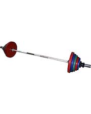York Штанга наборная цветная 100 кг