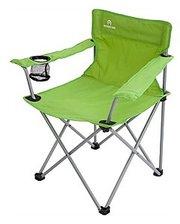Кресло туристическое складное Outventure (53х45х45 см) салатовое