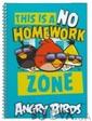 Cool For School Блокнот Angry Birds, на боковой спирали, голубой (333030)