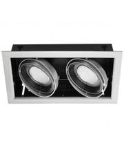 Litewell Светильник светодиодный, встраиваемый, поворотный 40W LED-GS02-m