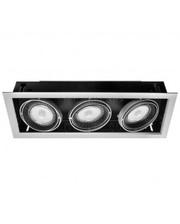 Litewell Светильник светодиодный, встраиваемый, поворотный 48W LED-GS03-p