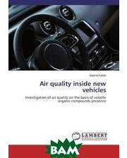 LAP Lambert Academic Publishing Air quality inside new vehicles