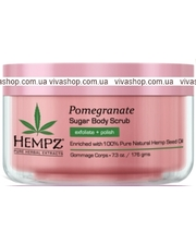 Hempz Pomegranate Herbal Sugar
