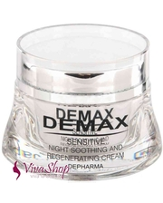 Demax Sensitive night soothing and regenerating cream