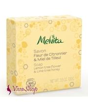 MELVITA Soap Lemon Tree Flower & Lime Tree Honey