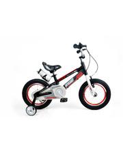 """Royal Baby Детский велосипед RoyalBaby SPACE NO.1 16"""", черный"""
