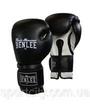 Benlee Кожаные боксерские перчатки MADISON DELUXE 10 ун. Черный/Белый