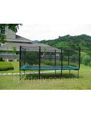 KIDIGO Прямоугольный батут KIDIGO™ 457х305 см. с защитной сеткой + лестница