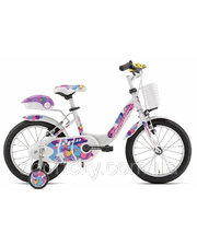 "Bottecchia GIRL COASTER BRAKE 16"" White"