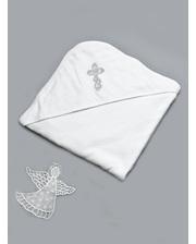 Модный карапуз Крыжма для крещения (03-00300)