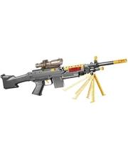X-Бластер Пулемет Сталкер Элит 650 гидропуль 10 стрел + мишень и очки Черный 47171 (47171)