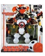 BoldWay Робот-андроид Футбол со звуковыми эффектами, футбол (10818-1)