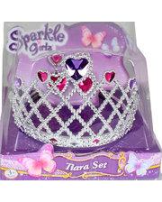 Sparkle girlz Набор из диадемы и сережек для девочки (сердце), Sparkle girlz, Funville (FV75028-2)