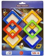 МАГНІКОН 3-D магнитный конструктор МАГНІКОН, 6 дет. (MK-6)