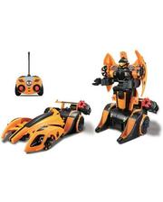 Maisto Автомодель - трансформер на р/у Twist and Shoot оранжевый (81177 orange)