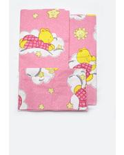 Модный карапуз Комплект постельного белья в кроватку для новорожденных (девочка) (03-00485-0)