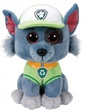 TY Мягкая игрушка Пес Рокки (маленький 15 см), Paw Patrol, (41212)