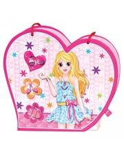 BINO Набор - Музыкальная сумочка с зеркалом и дневник на замочке (43011)