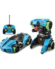 Maisto Автомодель - трансформер на р/у Street Troopers PT808 чёрно-голубой (81108 blue/black)