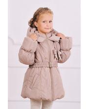 Модный карапуз Куртка-пальто зимняя для девочки (бежевый) (03-00461-0)