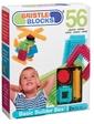 Bristle Blocks Конструктор-бристл - СТРОИТЕЛЬ (56 деталей, в коробке) (3070Z)