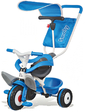 Smoby Металлический велосипед с багажником и козырьком Синий 444208 (444208)