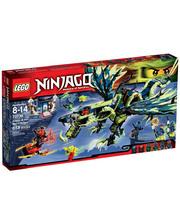 Lego Конструктор Атака Дракона Морро 70736 (70736)