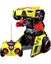 Maisto Автомодель - трансформер на р/у Street Troopers PT808 жёлто-чёрный (81108 yellow/black)