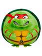 TY Игрушка мягконабивная Черепашка-ниндзя Рафаэль 12см серии Beanie Ballz (38254)