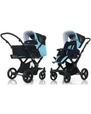 ABC Универсальная коляска 2 в 1 Design Avus for Babyzone Aqua-dark brown (61036/1016)