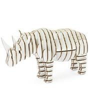 "KAWADA 3D пазл из гофрокартона D-torso ""Носорог"", белый (4580238617141)"
