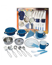 Champion Кухонный набор из нерж.стали и эмалированный, 22 ед.; коробка с окошком (CH2022SEM)