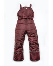 Модный карапуз Полукомбинезон зимний для девочки (бордо) (03-00462-0)
