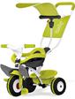 Smoby Металлический велосипед с багажником и козырьком Зеленый 444192 (444192)