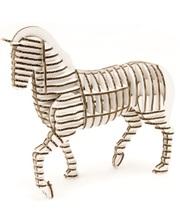 """KAWADA 3D пазл из гофрокартона D-torso """"Конь"""", белый (4580238619176)"""