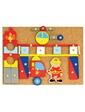 BINO Игра с молоточком Пожарные, 168 деталей, (82197)