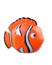 LENA Рыбка оранжевая - игрушка для купания в ванне, Lena, оранжевая (65521-2)