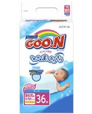 GOO.N для маловесных новорожденных 1,8-3 кг (р. SSS, на липучках, унисекс,36 шт) (753656)