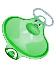 Stiga Тарелка для катания зеленая Sled Walrus, Stiga, морж, зеленый (74-2050-25-3)