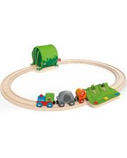 """Hape Набор железной дороги """"Путешествие по джунглям E3800 (E3800)"""