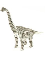 "KAWADA 3D пазл из гофрокартона D-torso ""Брахиозавр"", белый (4580238619008)"