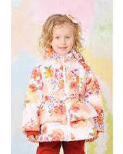 Модный карапуз Куртка демисезонная для девочки (Цветы) (03-00567-1)