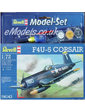 Revell Model Set Самолет F4U-5 Corsair; 1:72 (64143)