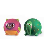 """Oops Набор игрушек резиновых """"Сова + Черепашка 00400 (00400)"""