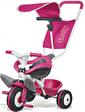 Smoby Металлический велосипед с багажником и козырьком Розовый 444207 (444207)
