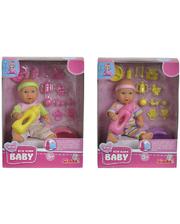 New Born Baby Мини пупс NNB 12см 2 Вида. (503 3195)