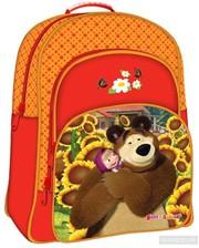 Росмэн-Пресс Школьный рюкзак Маша и Медведь (15173)