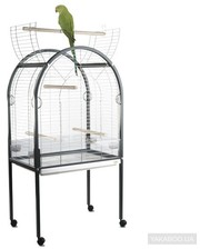 iMac Amanda для крупных попугаев пластик, хром 85х54х155 см (14201)