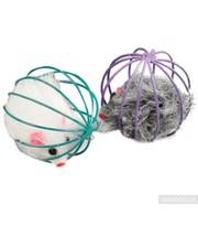 Karlie Flamingo Игрушка для кошек Karlie-Flamingo WIRE BALL WITH MOUSE (502252)