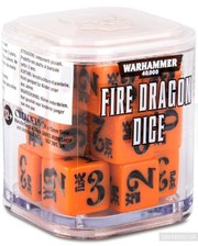 Games Workshop Warhammer 40000: Fire Dragon Dice (99220104005)